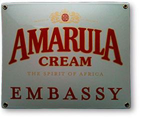 Amarula Cream skilt fra Bro's Skilte