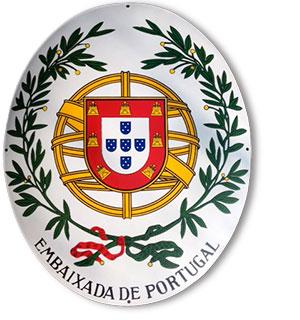 Portugals Ambassade skilt fra Bro's Skilte