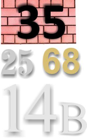 Løse tal og bogstaver